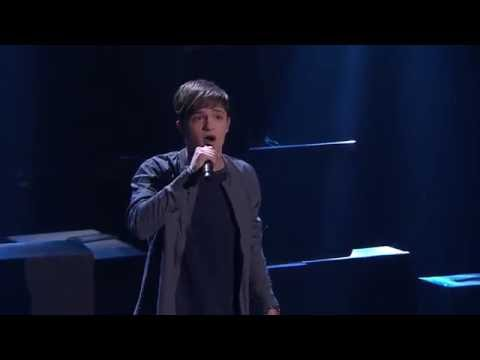 Adam Ladell sings 'Superheroes' | The Voice Australia 2016