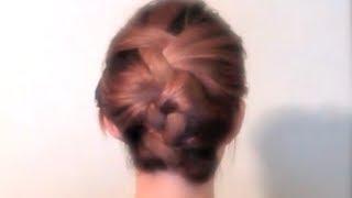 Repeat youtube video 誰でも簡単Hair arrangeざっくり編み込み(braiding hair)