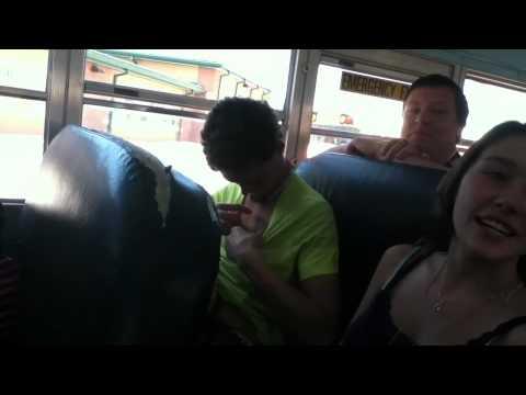 Bus ride 1 Jordan flashes