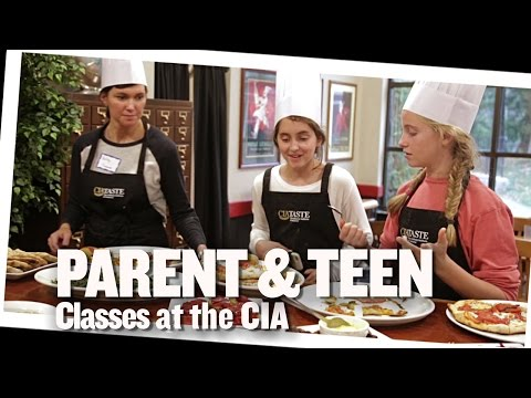 Parent and Teen Cooking Classes at the CIA