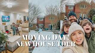 MOVING DAY & OUR NEW HOUSE TOUR | KATE MURNANE