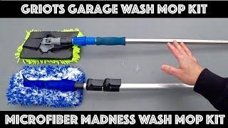 Griots Garage vs Microfiber Madness Wash Mop Kits Compared