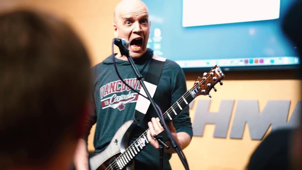 winter namm 2016 devin townsend at fishman framus youtube. Black Bedroom Furniture Sets. Home Design Ideas