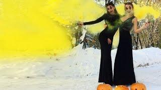Halloween, Маша готовит манты на Хэллоуин