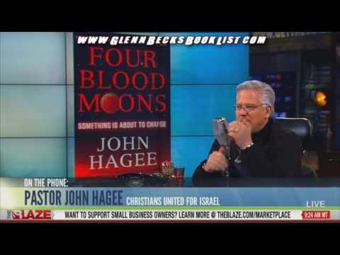 """John Hagee on his book """"Four Blood Moons"""" with Glenn Beck"""