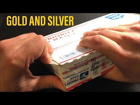 Silver and Gold unboxing from APMEX!