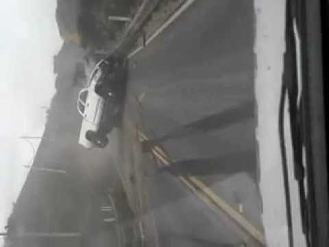 Truck crash on Highway 1 in Big Sur caught on camera