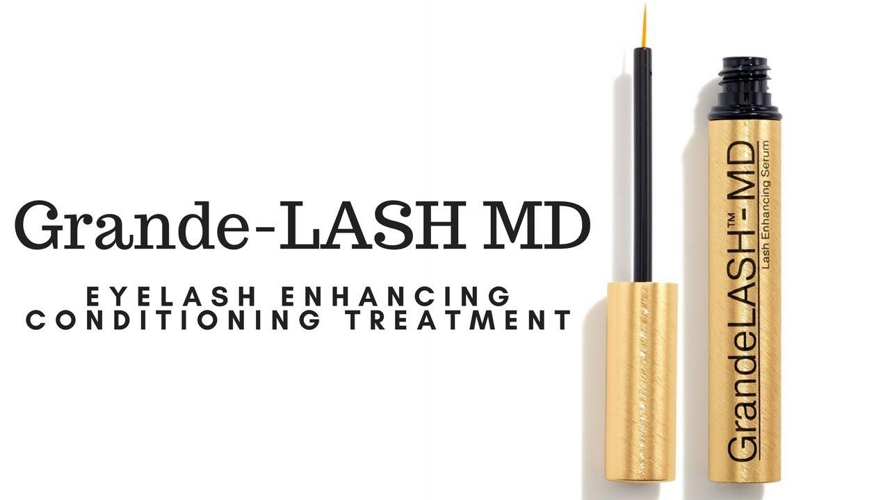 7655ea2eb9e Review: Grande Lash MD Eyelash Conditioning Treatment! - YouTube