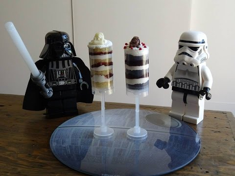 How to make a 'Cake Push Pop' - (Star Wars/Dark Side themed!)