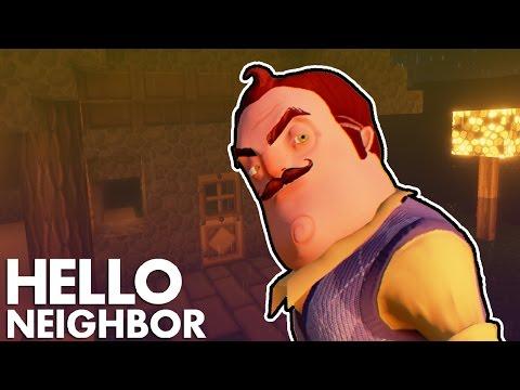 Minecraft Hello Neighbor - Did The Neighbor Build A Alpha 3 House  (Minecraft Roleplay)