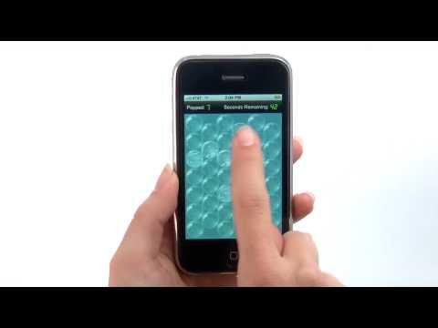 Bubblewrap app - iPhone App Demo by iPhoneAppDemos.tv