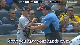 Joe Maddon gets angry at the Pirates, a breakdown