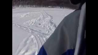 Repeat youtube video 【岩洞湖氷上ワカサギ釣り】ポイントから駐車場まで