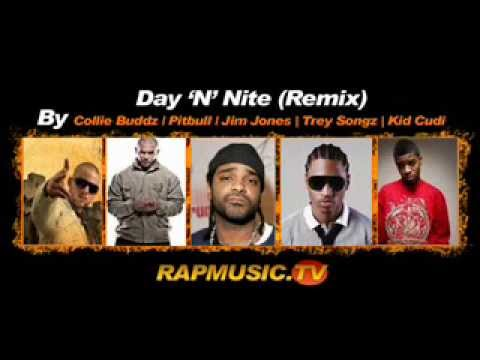 Day and Night  Full Remix  Collie Buddz, Pitbull, Jim Jones, Trey Songz, Kid cudi  *SUPER HD*