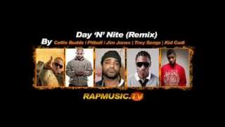 Day and Night - Full Remix - Collie Buddz, Pitbull, Jim Jones, Trey Songz, Kid cudi  *SUPER HD*