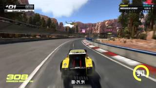 Trackmania Turbo Single Player Full Race & Replay Playstation 4