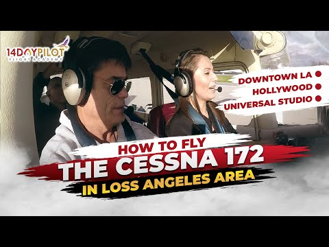 How Female Pilot Learn to fly the Cessna in Los Angeles