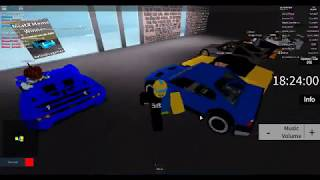 playing around in Roblox Street Racing Unleashed: The Reborn