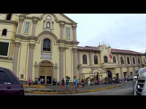 Walking Around Lipa Cathedral Church in Batangas