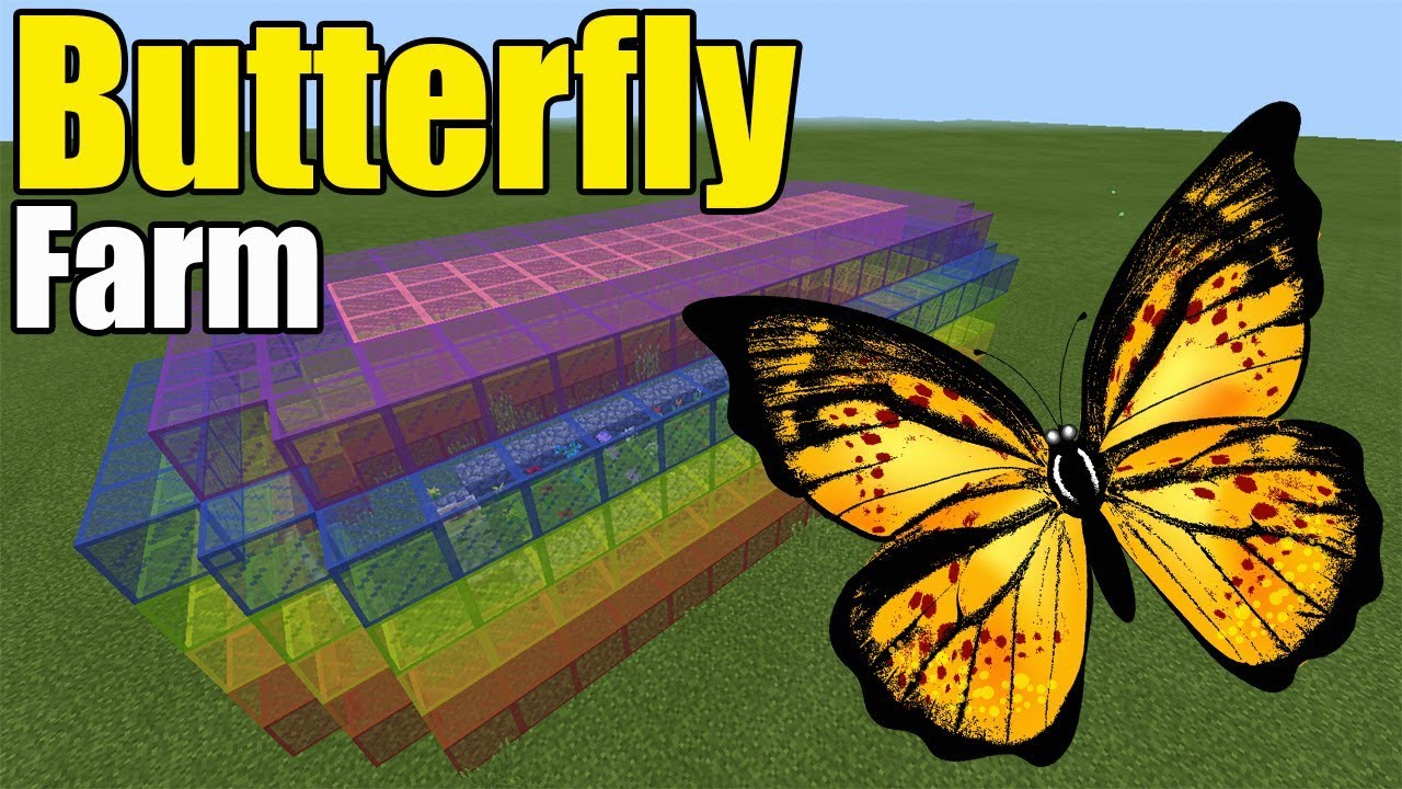 Butterfly Farm | Minecraft PE