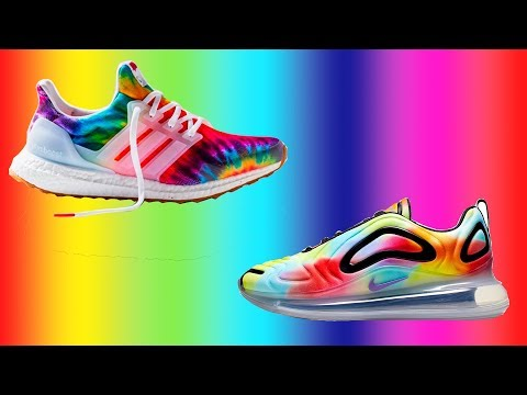 "Adidas ULTRABOOST x Nike AIR MAX 720 ""TIE DYE"" 