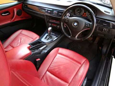 2008 Bmw 3 Series 320i A Coupe Red Interior Auto For