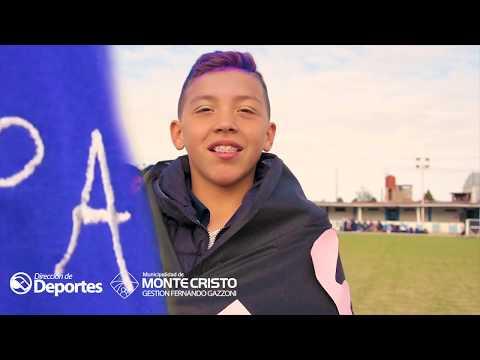 Olimpiadas Municipales Escolares - Certamen Atletismo Monte Cristo, Córdoba, Argentina HD