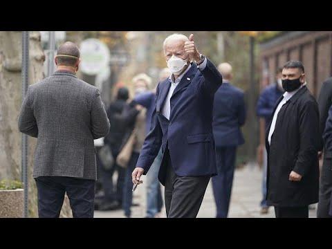 euronews (in Italiano): Sprint finale per Joe Biden. Grandi elettori al voto