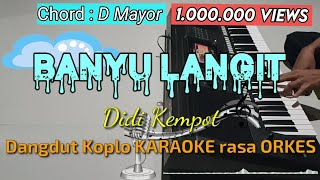 BANYU LANGIT - Didi Kempot Versi Dangdut Koplo KARAOKE rasa ORKES Yamaha PSR S970
