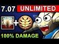 UNLIMITED DAMAGE SVEN DOTA 2 PATCH 7 07 NEW META PRO GAMEPLAY mp3