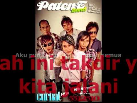 PATENT BAND - Curhat ★ LIRIK ★