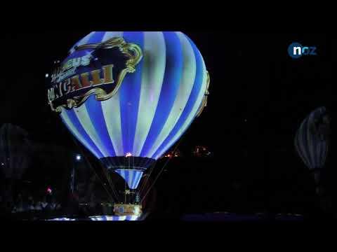 Circus Roncalli in Osnabrück setzt auf Holografie-Technik