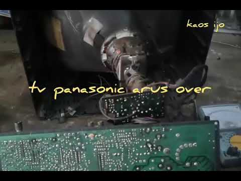 Cara Service Tv Panasonic Arus Membesar