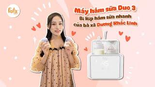 Máy hâm sữa Duo 3 Fatz Baby - Bí kíp hâm sữa nhanh của bà xã Dương Khắc Linh