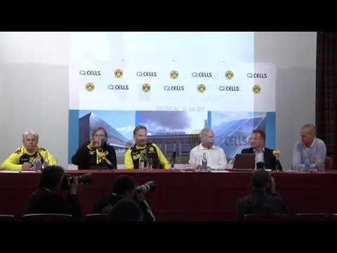Pressekonferenz: BVB und Q-Cells starten Partnerschaft