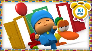 ⭐ POCOYO in ENGLISH - TOP 10: MOST VIEWED 2020 [101 min] Full Episodes |VIDEOS & CARTOONS for KIDS