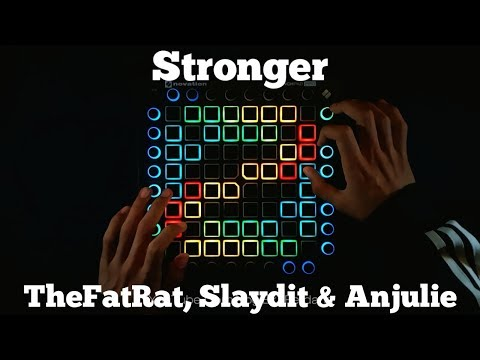 TheFatRat, Slaydit & Anjulie - Stronger //Launchpad Pro Performance//