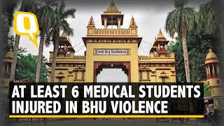 BHU Students Injured After Violent Clash With Resident Doctors