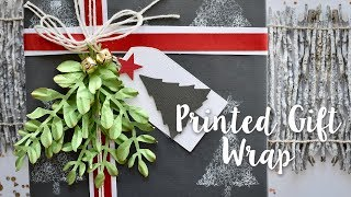 How to Print Gift Wrap - Sizzix Lifestyle