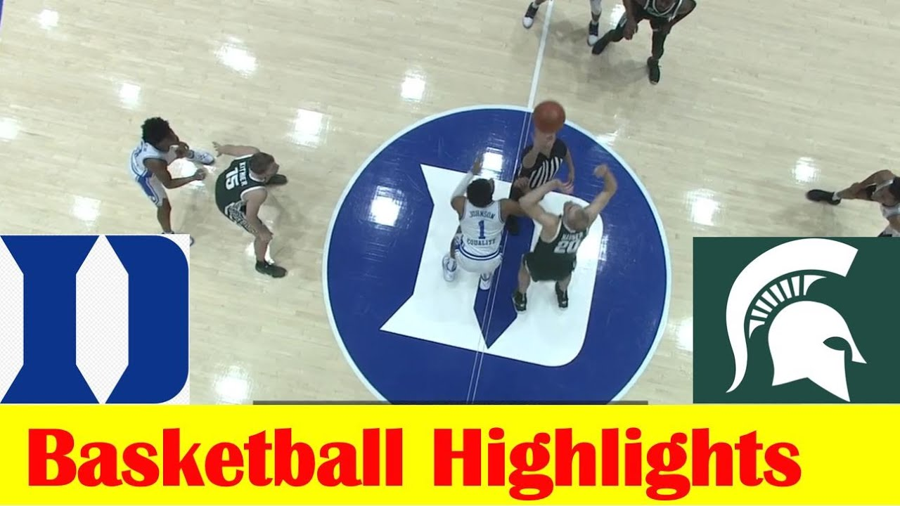 Michigan State vs Duke Basketball Game Highlights 12 1 2020 - download from YouTube for free