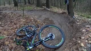 Лицо трейла Уборка дня Бемс Fail Crash bike Bems