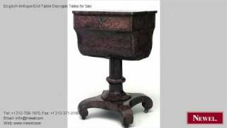 English Antique End Table Georgian Tables For Sale