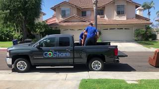 How to Move Large Items in Your Pickup Truck Bed - GoShare