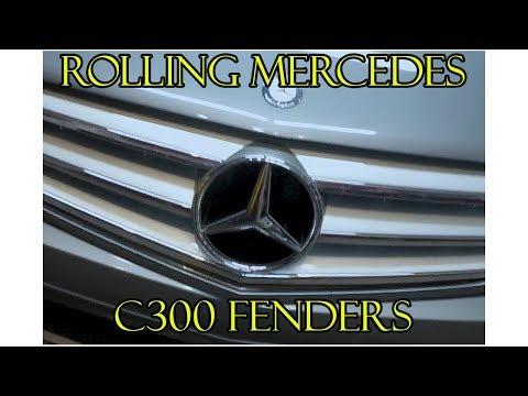 2011 Mercedes C300 Fender Roll