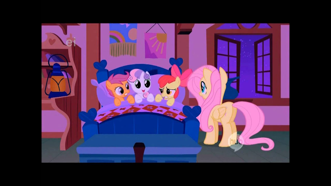 Fluttershy And The Cutie Mark Crusaders Lullaby Youtube