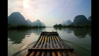 Bamboo Rafting + Hidden Breakfast in RURAL China - vlog