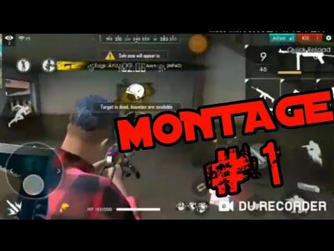 MONTAGE||FREE FIRE||TOXIC JOKER GAMING||
