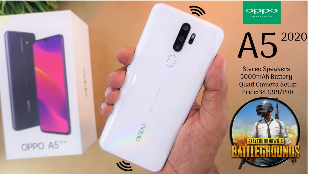 Oppo A5 2020 Unboxing Quick Review Urduhindi