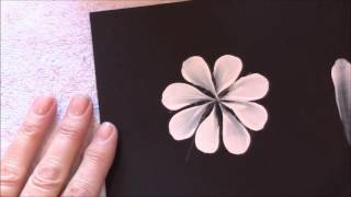 How to paint a daisy