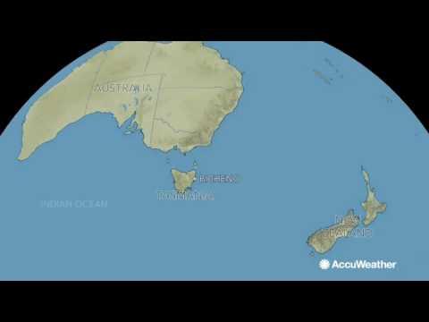 Amazing videos of Tasmanian granite reef and Kilauea volcano